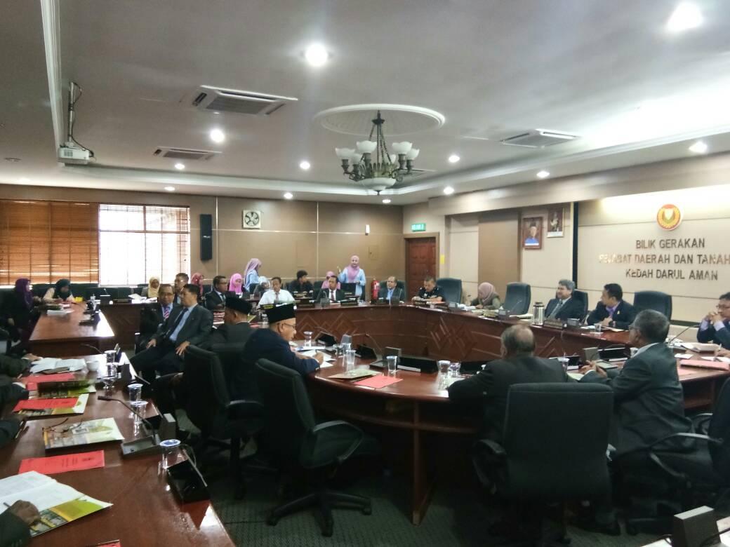 JMG KPP beri taklimat Geopark Jerai Kepada Agensi Teknikal Negeri