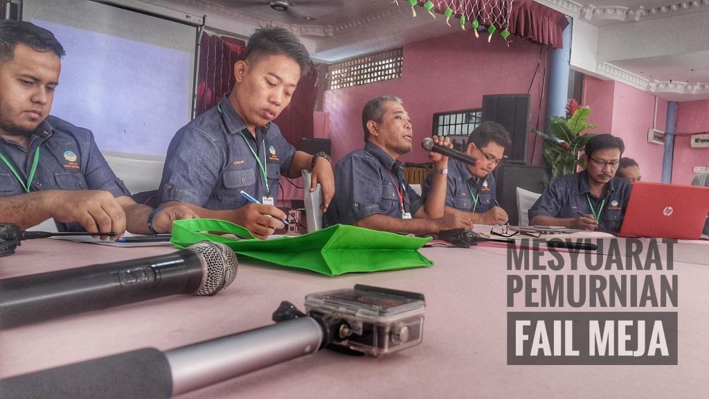 mesyuarat pemurnian fail meja dan LNPT serta sambutan hari keluarga jmgswp 2017