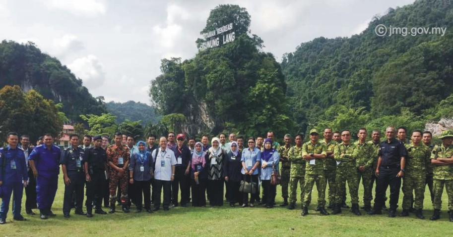 Latihan Bencana Interagensi Peringkat Daerah Kinta, Perak