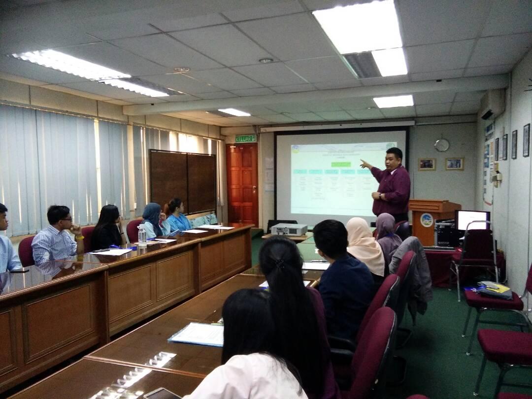 JMG SABAH MENERIMA PELAJAR INDUSTRI DALAM JULAI 2017