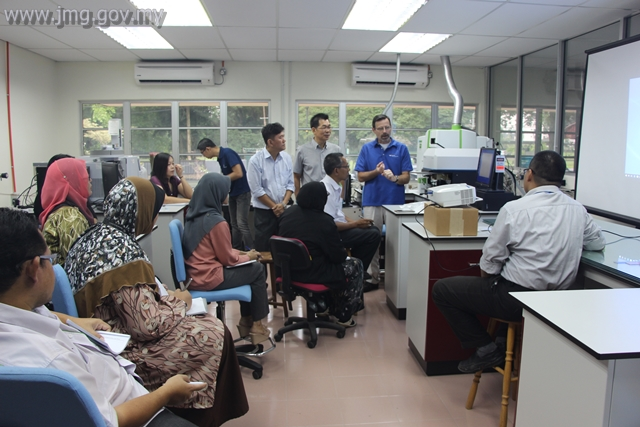 PEMASANGAN LASER ABLATION ICP-MS