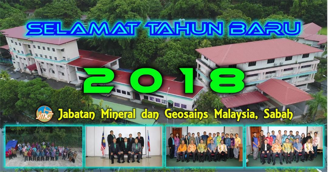 SELAMAT TAHUN BARU 2018 DARIPADA JMG SABAH
