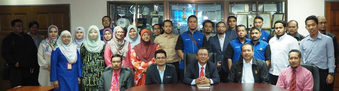 Majlis Perhimpunan Bulanan dan Suai Kenal bersama Pengarah JMGSWP